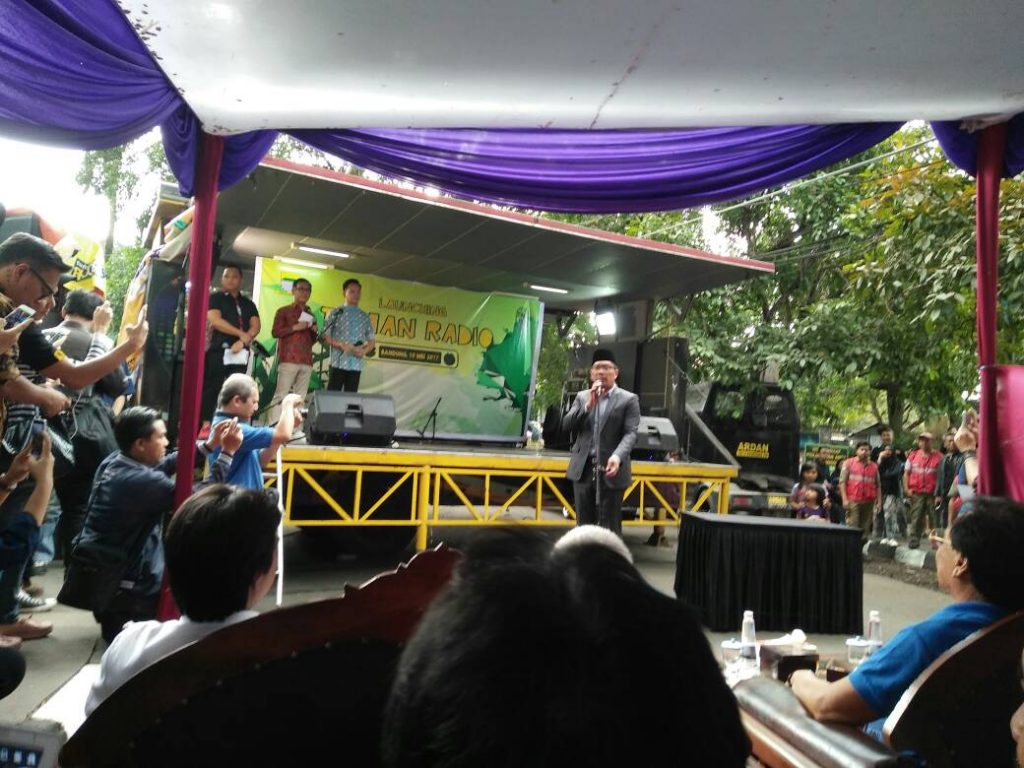 Launching Taman Radio